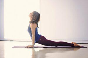yoga position för nybörjare